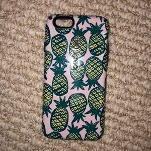 Pineapple print Speck case for iPhone 6/6s/7